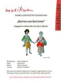 Bastien und Bastienne Singspiel in einem Akt von W.A. Mozart - Leitung Stephan Höllwerth
