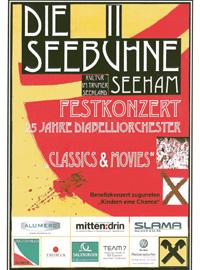 Seebühne Seeham - Festkonzert 25 Jahre Diabelliorchester Leitung Stephan Höllwerth