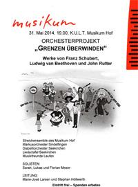 Orchesterprojekt Grenzen überwinden Werke von Franz Schubert