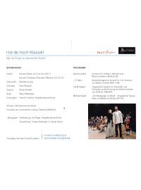 Hände hoch - Klassik! Konzept und musikalische Leitung Stephan Höllwerth