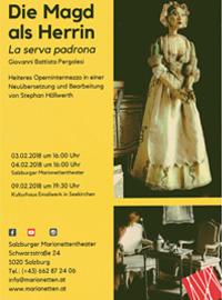 Die MAgd als HErrin - La serva padrona - NEuübersetzung und BEarbeitung von Stephan Höllwerth