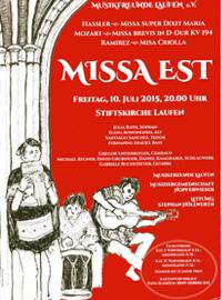 Missa est - Musikfreunde LAufen mit Stephan Höllwerth