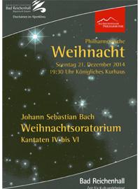 Phillharmonische Weihnacht Weihnachtsoratorium - Stephan Höllwerth