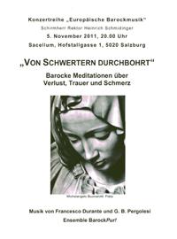 von Schwertern durchbohrt - Orgel und Leitung Stephan Höllwerth