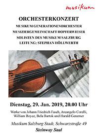 Konzertprogramm von Stephan Höllwerth