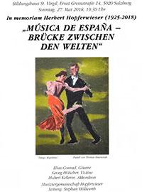 Musica de España Leitung Stephan Höllwerth